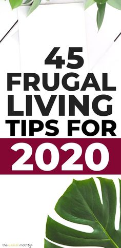 The ultimate list of frugal living tips you need to try in 2020 to make this your most frugal year yet. Covering money saving tips from lowering your grocery bill by meal planning, to being more mindful, these frugal living ideas are exactly what you need Save Money On Groceries, Ways To Save Money, Money Tips, Money Budget, Frugal Living Tips, Frugal Tips, Budgeting Finances, Budgeting Tips, Planning Budget