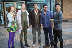 """The Librarians Episode 301 """"And the Rise of Chaos"""" 5/2/16 IMG_7890 - SpoilerTV Backup Gallery"""