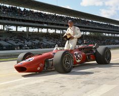 Nascar regular Donnie Allison drove a AJ Foyt car in the 1967 #Indy500
