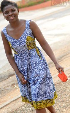 African Print Dress... Love love love