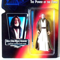 Star-Wars-Power-of-the-Force-BEN-OBI-WAN-KENOBI-Red-Card-Long-Lightsaber