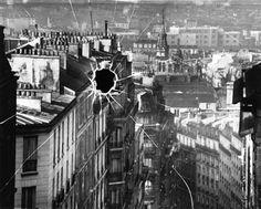 Image as broken pane of glass.