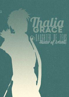 30 day Percy Jackson  challenge. Day 2 favorite demigod- Thalia Grace