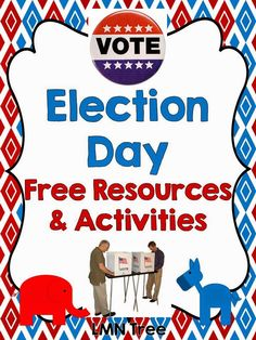 LMN Tree: Elections and Election Day: Free Resources, Activities, Lessons, and more Social Studies Notebook, 4th Grade Social Studies, Social Studies Activities, Teaching Social Studies, Teaching Activities, Teaching Kids, Preschool Science, Government Lessons, American History Lessons