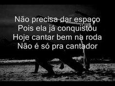 'Mulher na roda não é pra enfeitar...' Sung by Carolina Soares