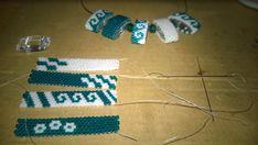 Carrier beads, tragerperlen, FRONT