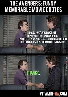 The avengers funny memorable movie quotes marvel Avengers Humor, The Avengers, Avengers Quotes, Avengers Movies, Marvel Memes, Avengers 2012, Avengers Imagines, Marvel Funny, Marvel Dc