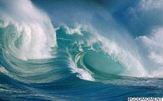 Golven: voor surfers is het natuurlijk een #Godmoment als de golven lekker hoog zijn, how bigger they are how greater the challenge!