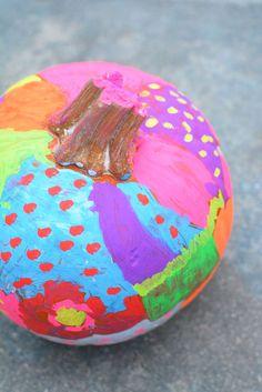 No Paint No Carve Pumpkin Decorating for Kids - Meri Cherry Halloween Art Projects, Halloween Arts And Crafts, Halloween Activities, Halloween Kids, Projects For Kids, Crafts For Kids, Diy Crafts, Winter Activities, Halloween Pumpkins