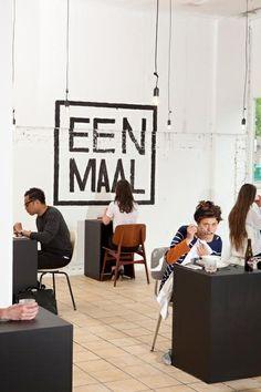 Uit eten met jezelf bij Eenmaal, Bos en Lommerweg 361, Amsterdam