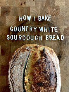 Country Style Sourdough Bread 1.0 Introduction I do not use recipes from books to decide the amount of ingredients used in a dough. I use my own formulas which I've created from trials with my uniq…