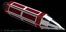 My Space Colonizer Ship Idea in LEGO