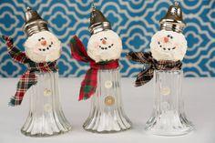 Salt Shaker Snowman Vintage Salt Shaker Snowman by shopch2 on Etsy