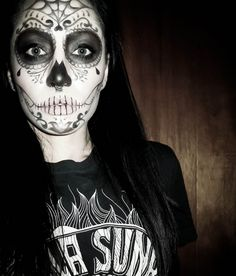 Sugar Skull makeup idea