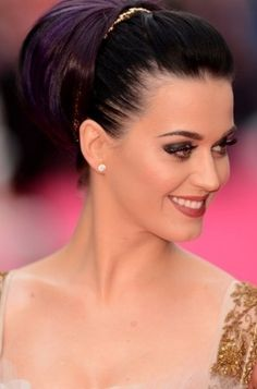 Chignon chic Katy Perry