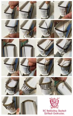 #tutorial #bookbinding #endband #headbands