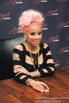 Singer Keyshia Cole- Her mum is black and she doesn't know who her dad is but has described herself as biracial.