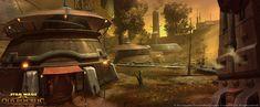 Hutta Star Wars: The Old Republic | Concept Art- Clint Young