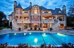 dream houuse :) like a castle :3