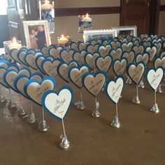 Hearts and Kisses - Hershey Kiss Escort or Place Cards by sparkleandink on Etsy https://www.etsy.com/listing/240379130/hearts-and-kisses-hershey-kiss-escort-or