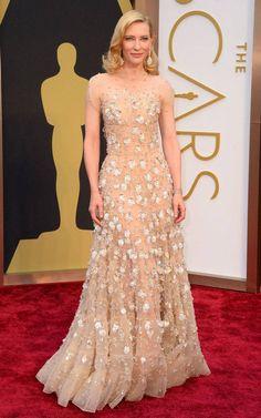 Care Blanchett 2014 Oscars Red Carpet Looks