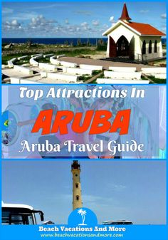 Top Aruba attractions not to miss for tourists - Natural Pool, De Palm Island, Arikok National Park, Butterfly Farm, Antilla Shipwreck and other landmarks and points of interest