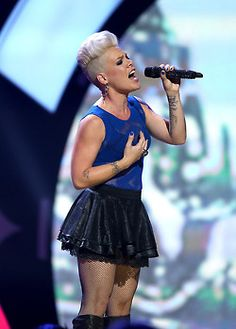 American Pop singer, actress and model Pink often stylized as P!nk was born…