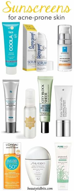 Acne-prone skin? Check out some of my favorite sunscreens that provide all the necessary UV protection without causing breakouts!