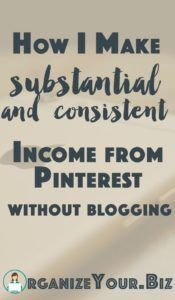 Want to make money on Pinterest (without blogging) No website required! CRASH COURSE