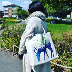Say no to 5p carrier bags with this gorgeous vegan Create&Case tote bag shopper bag.