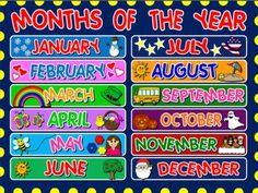 #MONTHS - POSTER
