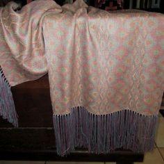 Turned Taqueté Silk Shawl using naturally dyed silks Dyed Silk, Silk Shawl, Fiber Art, Iris, Weave, Scarves, Hand Weaving, Textiles, Winter
