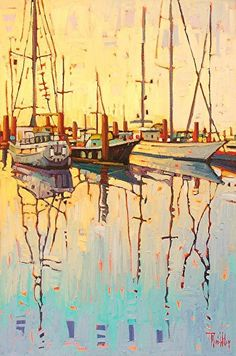 """""""Still Morning,"""" by Rene' Wiley by Rene' Wiley Gallery Unenhanced Giclée ~  x"""