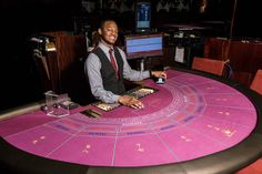 #puntobanco #punto #banco #dealer #croupier at #napoleons #casino #napoleonscasino #leicestersquare #london #gamble #gambling