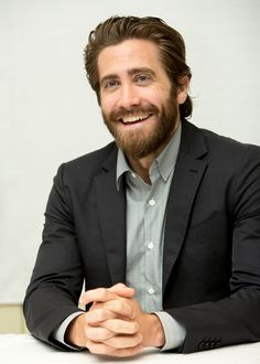 Jake Gyllenhaal at a press conference of the movie «Everest».  August, 2015.