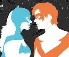 Batgirl. Nightwing.