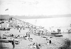 English Bay [Beach], Vancouver. - Edwards Bros. Vancouver B.C. - [ca. 1900] by Vancouver 125, via Flickr