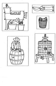 Risultati immagini per dall'uva al vino schede didattiche scuola primaria Wine Gadgets, Cooperative Learning, Autumn Crafts, Preschool, Comics, Fall, Google, Geography, Autumn