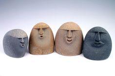 San-blasted lake stones, sand-blasted beach stones, sand-blasted stone sculptures