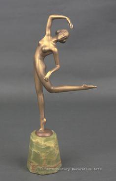 An Art Deco bronze by Lorenzl circa 1925