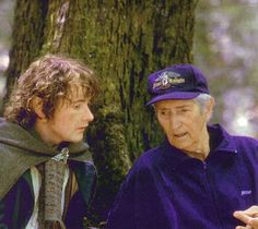 The legendary swordsman Bob Anderson (BTS of LOtR Trilogy with Billy Boyd)