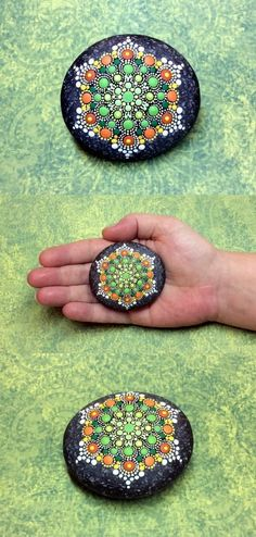 DIY Mandala Stone Patterns To Copy (36)