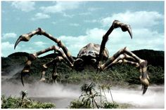 Kumonga  (クモンガ Kumonga) is a giant spider kaiju created by Toho that first appeared in the 1967 Godzilla film, Son of Godzilla. In Son of Godzilla, Kumonga is a vicious predator that attacks anything it sees. Kumonga is not averse to attacking humans, as it spends a good deal of time trying to capture Saeko and Goro and later attacking them and the team of scientists in a cave. By Destroy All Monsters, Kumonga is shown to live peacefully with the other monsters on Monsterland, and assists…