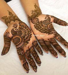 Simple Floral Mehndi Henna Designs For Hands - ArtsyCraftsyDad Easy Mehndi Designs, Latest Mehndi Designs, Bridal Mehndi Designs, Traditional Mehndi Designs, Peacock Mehndi Designs, Indian Mehndi Designs, Mehndi Design Pictures, Mehndi Designs For Fingers, Henna Tattoo Designs