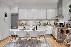 Apartamento nórdico: Sencillez y luminosidad.
