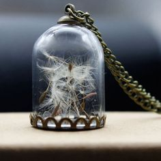 Cheap jewelry tree for necklaces, Buy Quality necklace porcelain directly from China jewelry hunt Suppliers:  Vintage Antique Bronze Chain Creative Charming Wish On A  Glass Bottle Wishing Bottle Necklace Jewelry Romantic Dandelion