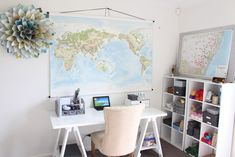 maps, office, styling