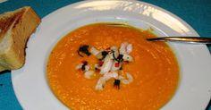 En verden af smag!: Gulerodssuppe med Rejer