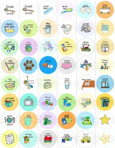 NEW ITEM Printable chores/digital inch by SallySuesShop DAILY/BASIC CHORES!jpg file with our basic set of chores. Toddler Activities, Kinder Routine-chart, Kids Routine Chart, Bedtime Routine Chart, Morning Routine Chart, Morning Routine Kids, Chore Chart Kids, Printable Chore Chart, Raising Kids