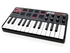 If you want a super-compact keyboard, check out Akai's LPK25, but spend a little more and you can get your hands on its slightly bigger brother. This adds assignable knobs and pads into the mix, leaving you with one of the smallest 'all in one' controllers on the market.  On the downside, pitch and mod wheels are conspicuous by their absence, but if you can live without these the MPK Mini is a bargain.